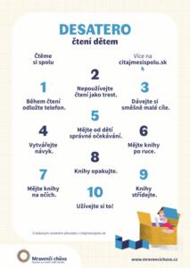 Desatero čtení s dětmi_plakátek