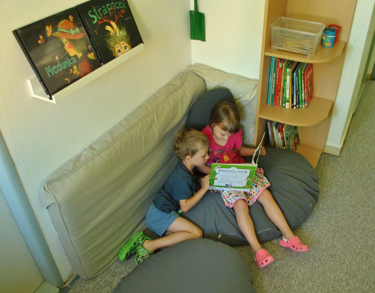 Podcast: Knihovničky vmateřských školách – čím vším mohou být  🔒