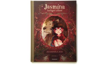 Jasmína, lovkyně záhad. Deník 1, Zkamenělá zoo