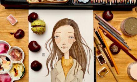 O práci ilustrátorky jsem snila od dětství